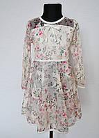 Красивое детское платье на девочку от 6 до 10 лет