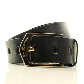 Ремень Lazar мужской кожаный L40U0W1-B 105-110 см