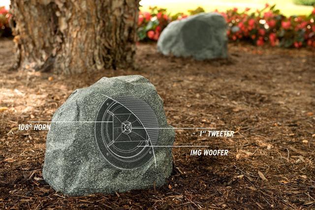 Klipsch PRO-650-T RK ландшафтная акустика камень