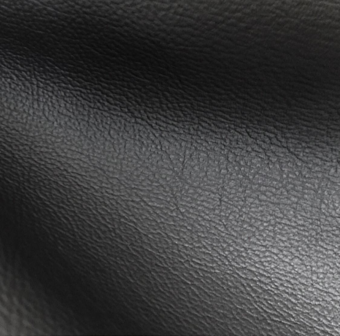 Мебельная кожа. Черная