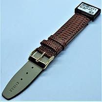 20 мм Кожаный Ремешок для часов CONDOR 611.20.02 Коричневый Ремешок на часы из Натуральной кожи, фото 3