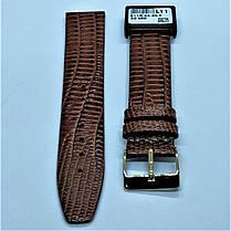 20 мм Кожаный Ремешок для часов CONDOR 611.20.02 Коричневый Ремешок на часы из Натуральной кожи, фото 2
