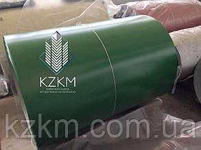 Лист гладкий зеленый ral 6005 зеленый глянцевый окрашенный полимерное покрытие РАЛ