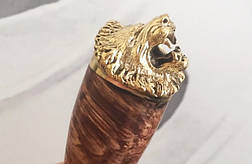 """Шампура ручной работы """"Львы"""" в кейсе из эко-кожи. 6шт., фото 2"""