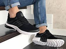 Кроссовки Nike air presto,сетка,черно белые, фото 2