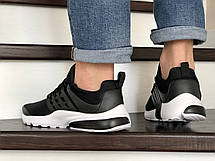 Кроссовки Nike air presto,сетка,черно белые, фото 3