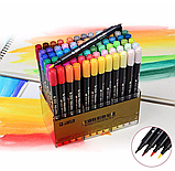 Набор двусторонних акварельных маркеров STA 36 цветов (B141220), фото 2