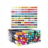 Набор двусторонних акварельных маркеров STA 36 цветов (B141220), фото 8