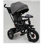 Велосипед трехколесный с ручкой детский TurboTrike М 5448 HA-19T Быстрая доставка, фото 6