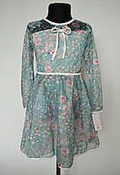 Красивое детское платье на девочку от 6 до 14 лет
