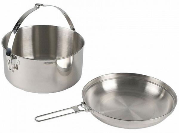 2 в 1 - Гусятниця + сковорода-кришка Tatonka Kettle (1,0 л) 4001.000