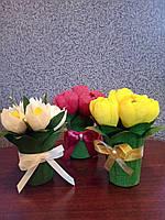 Букет из конфет сладкий подарок / Розы / Тюльпаны / к дню Святого Валентина, 8 Марта, День Рождения