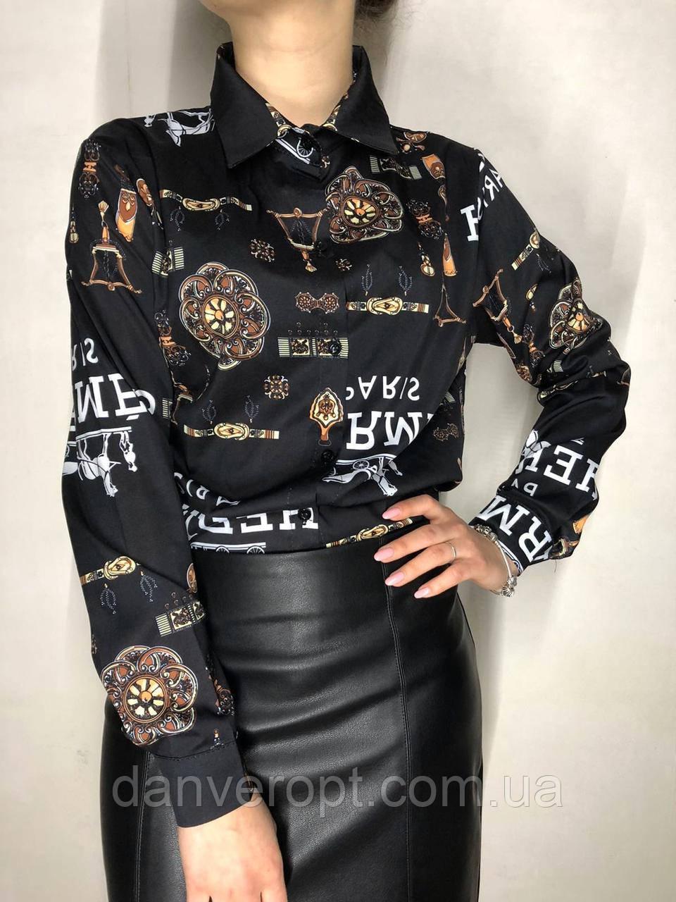 Сорочка жіноча модна розмір універсальний 42-46 купити оптом зі складу 7км Одеса