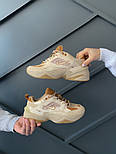 Женские кроссовки Nike M2K Tekno SP Schuhe beige 36-40р.. Живое фото (Топ реплика ААА+), фото 3