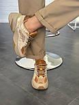 Женские кроссовки Nike M2K Tekno SP Schuhe beige 36-40р.. Живое фото (Топ реплика ААА+), фото 4