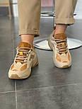 Женские кроссовки Nike M2K Tekno SP Schuhe beige 36-40р.. Живое фото (Топ реплика ААА+), фото 5