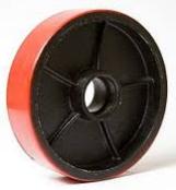 Замена рулевого колеса 180х50 гидравлической тележки
