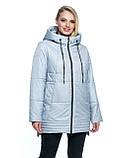 ЛД7107 Женская  куртка весна/осень большие размеры  (50-66 рр), фото 7