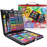 Детский художественный  набор для рисования в чемоданчике Art set 150 предметов (0709001), фото 3