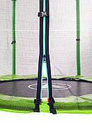 Батут Atleto 140 см с сеткой зеленый (21000402), фото 3