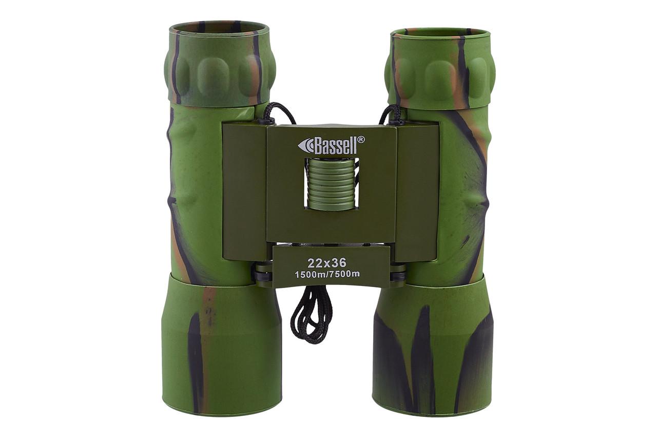 Бінокль 22x36 - BASSELL (green)