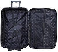Вализа Bonro Style большая черно-фиолетовая (10012704), фото 3
