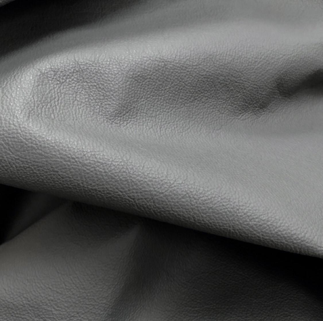 Мебельная кожа. Серая