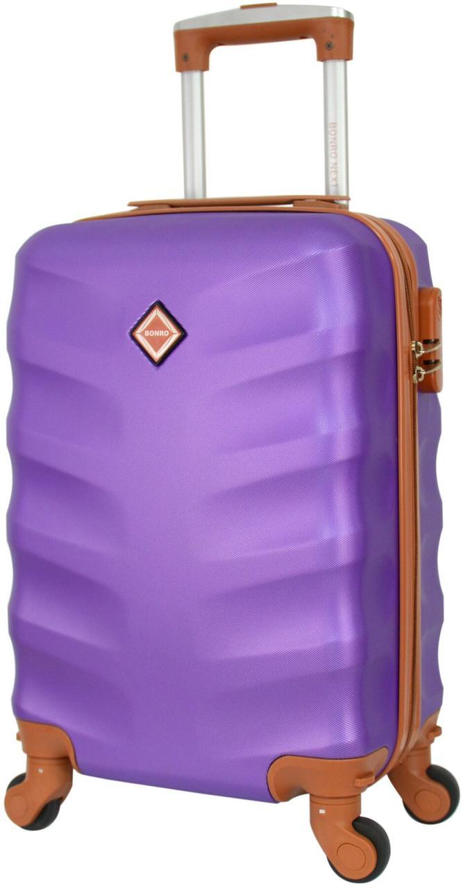 Вализа ручная кладь Bonro Next мини фиолетовая (10060203)