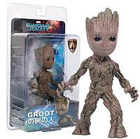 Коллекционная фигурка малыш Грут, Стражи Галактики 2, 17 см - Groot, Guardians of the Galaxy, Disney - 150261