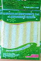 Салфетка из микрофибры с абразивной сеткой 2 в 1, 18×23см