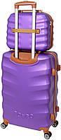 Комплект Вализа и кейс Bonro Next маленький фиолетовый (10066703), фото 2