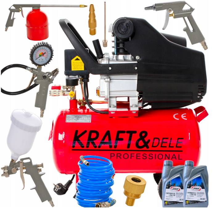 Компрессор масляный KRAFT&DELE KD400 2,8 кВт