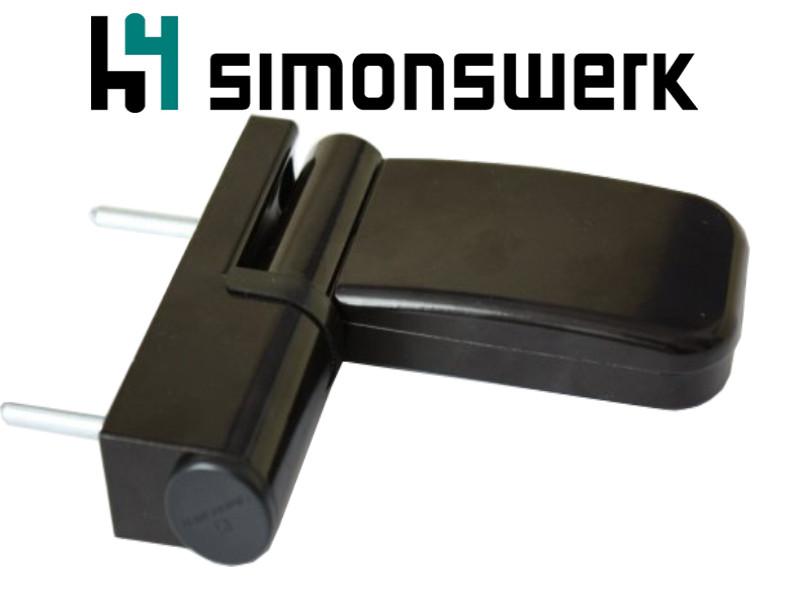 Петля дверная Simonswerk Siku 3135 коричневая (Германия)