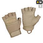 M-Tac перчатки беспалые Assault Tactical mk4. khaki, фото 3