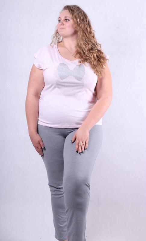 """Женская пижама летняя футболка со штанами """"Минни Маус"""" р42-50"""