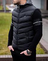 Безрукавка мужская Ribas X black весенняя осенняя