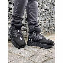 Ботинки Adidas А2163-1 черный зима 43