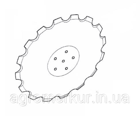 Диск ромашка AC353951 d=18 Kverneland