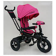 Велосипед трехколесный с ручкой детский TurboTrike М 5448 HA-6 Быстрая доставка, фото 2