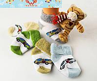 Детские махровые носочки для новорожденных Nanhai 316 Z. В упаковке 3 пары