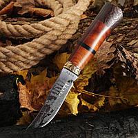"""Нож для охоты с гравировкой """"Охотник """""""
