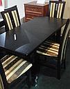 Стол Классик Люкс ваниль120(+40)*75 обеденный раскладной деревянный, фото 4