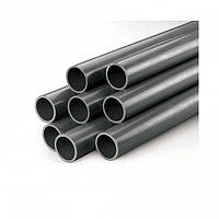 Труба ПВХ Gemas 50 мм диаметр PN10. PVC pipe жесткая серая раструбная для бассейнов, водоотведения, скважин