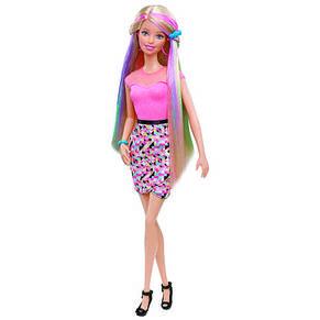 Кукла Barbie радужные волосы, фото 3