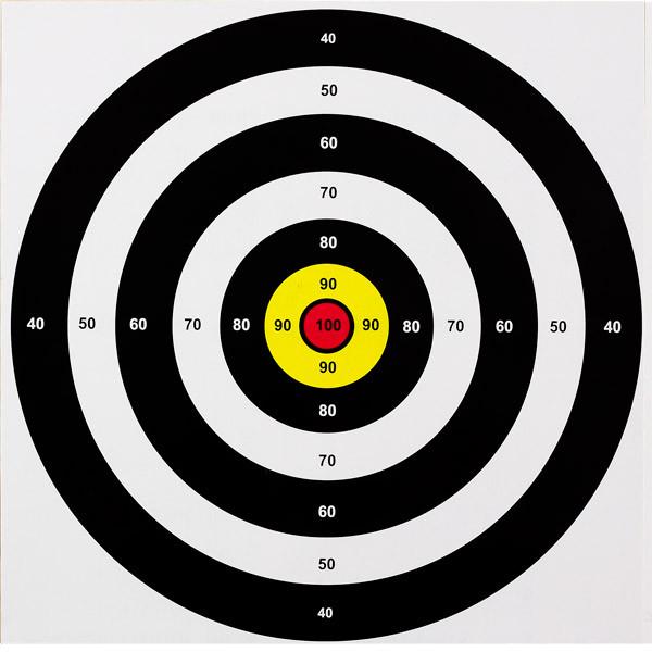 Мішень середня (40x40) -10 шт