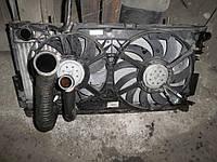 Радиатор охлаждения двигателя на Крайслер Вояджер Chrysler Voyager 2.5CRD