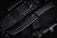 Нож нескладной тактический (рукоять-эластрон)
