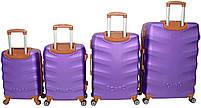 Набор чемоданов Bonro Next 4 штуки фиолетовый (10060403), фото 2