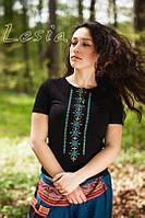 Жіноча футболка Класика бірюзова