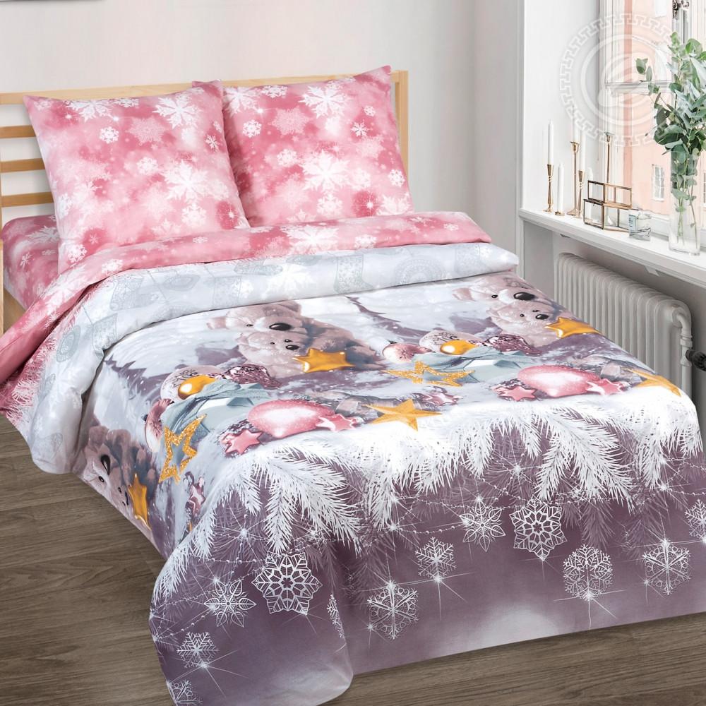 Постельное белье Ласковый мишка поплин ТМ Комфорт текстиль (в детскую кроватку)